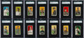 Baseball Cards:Sets, 1909-11 T206 White Border Partial Set of (267/521) With Old Milland EPDG Backs and a Missing Ink Variant...