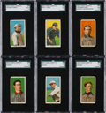 Baseball Cards:Lots, 1909-11 T206 Hindu (Brown) Cigarettes Collection (19) With HoFers....