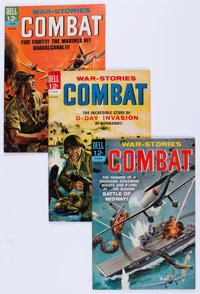 Combat File Copies Group (Dell, 1964-73) Condition: Average NM-.... (Total: 81 Comic Books)