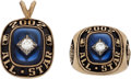 Baseball Collectibles:Others, 2002 Major League Baseball All-Star Ring & Pendant from the Infamous Tie Game. ...