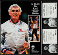"Basketball Collectibles:Programs, 1990 A Toast to Earl ""Yogi"" Strom Multi Signed Program - Signed byBasketball Greats!..."