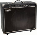 Musical Instruments:Amplifiers, PA, & Effects, 1989 Evans FET 500 LV Black Pedal Steel Guitar Amplifier....