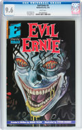 Modern Age (1980-Present):Horror, Evil Ernie #3 (Eternity, 1992) CGC NM+ 9.6 White pages....