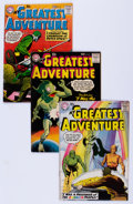 Silver Age (1956-1969):Adventure, My Greatest Adventure Group (DC, 1958-59).... (Total: 8 Comic Books)