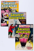 Silver Age (1956-1969):Adventure, My Greatest Adventure Group (DC, 1956-58).... (Total: 7 Comic Books)