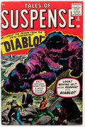 Silver Age (1956-1969):Horror, Tales of Suspense #9 (Marvel, 1960) Condition: VG/FN....