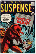 Silver Age (1956-1969):Horror, Tales of Suspense #24 (Marvel, 1961) Condition: FN+....