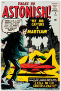 Silver Age (1956-1969):Science Fiction, Tales to Astonish #2 (Marvel, 1959) Condition: VG/FN....