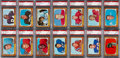Football Cards:Lots, 1966 Topps Football PSA MINT 9 Collection (14). ...