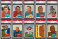 Football Cards:Lots, 1960 Topps Football PSA Graded Collection (41). ...