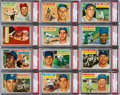 Baseball Cards:Sets, 1956 Topps High Grade Complete Set (340). ...