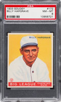 Baseball Cards:Singles (1930-1939), 1933 Goudey Billy Hargrave #172 PSA NM-MT 8....