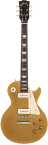 Musical Instruments:Electric Guitars, 1956 Gibson Les Paul Standard Gold Solid Body Electric Guitar, Serial # 611958....