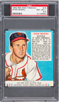 Baseball Cards:Singles (1950-1959), 1952 Red Man Tobacco Stan Musial #16 PSA NM-MT+ 8.5....