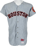 Baseball Collectibles:Uniforms, 1970 Norm Miller Game Worn Houston Astros Jersey....
