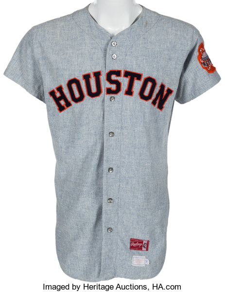 factory authentic ce849 f42c4 1970 Norm Miller Game Worn Houston Astros Jersey ...