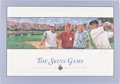 Golf Collectibles:Autographs, 1996 Tiger Woods, John Daly, Fred Couples & Tom Watson SignedSkins Game Lithograph....