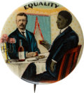 Political:Pinback Buttons (1896-present), Theodore Roosevelt: Full Color Equality Pin....