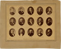 Political:Small Paper (pre-1896), Stolen Election of 1876: Electoral Commission Photo by Brady....