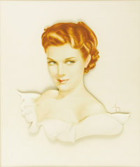 ALBERTO VARGAS (1896-1983) Permanent Wave: Redhead, 1941 Gouache on paper mounted on board 28in. x 24in. (sight size
