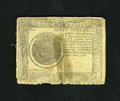 Colonial Notes:Continental Congress Issues, Continental Currency September 26, 1778 $7 Good. This note appearsto have been severed in two and repaired numerous times....