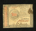 Colonial Notes:Continental Congress Issues, Continental Currency January 14, 1779 $45 About New. This is aninteresting note as it has a single light fold with bold sig...