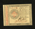 Colonial Notes:Continental Congress Issues, Continental Currency January 14, 1779 $80 New+++. A superb exampleof this scarcer high denomination note that appears to be...