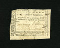 Colonial Notes:North Carolina, North Carolina April 23, 1761 30s Very Fine. A handful of edgesplits are found on this rare North Carolina note. It carries...