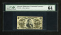 """Fractional Currency:Third Issue, Fr. 1298 25c Third Issue PMG Choice Uncirculated 64. A beautiful example of this much more difficult """"a"""" on face fiber paper..."""