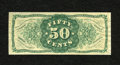 Fractional Currency:Third Issue, Fr. 1339SP 50c Narrow Margin Back Specimen Third Issue Spinner Type II Choice New. This wonderful and rare Type II Spinner b...