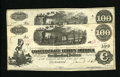 Confederate Notes:1862 Issues, T40 $100 1862. Two Examples. Here is a nice Very Fine mid-gradepair of $100 notes. One note carries a January 1863 dat... (Total:2 notes)