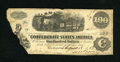 Confederate Notes:1862 Issues, T40 $100 1862 Trans-Mississippi Issue. This C-note was issued inHouston by Major B. Bloomfield of the Quartermaster Departm...