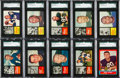 Football Cards:Sets, 1962 & 1963 Topps Football Complete Sets (2). ...