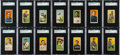 Baseball Cards:Lots, 1909-11 T206 White Borders Partial Set (97) With HoFers and PrintErrors. ...