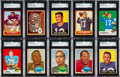 Football Cards:Sets, 1960, 1961, 1963 and 1969 Topps Football Sets (4). ...