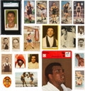Boxing Cards:General, 20th Century International Boxing Card Collection (150+) With 1960Cassius Clay Rookie. ...