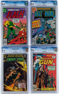 Bronze Age (1970-1979):Miscellaneous, DC Bronze Age Comics CGC-Graded Group (DC, 1976-78) Condition: NM+9.6 except as noted.... (Total: 4 Comic Books)