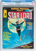 Magazines:Science-Fiction, Marvel Preview #4 Star-Lord (Marvel, 1976) CGC VF+ 8.5 Off-white towhite pages....
