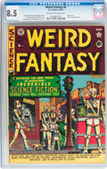 Golden Age (1938-1955):Science Fiction, Weird Fantasy #6 (EC, 1951) CGC VF+ 8.5 Off-white to whitepages....