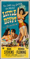 "Movie Posters:Comedy, Little Egypt (Universal International, 1951). Three Sheet (41"" X 79""). Comedy.. ..."