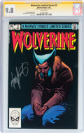 Modern Age (1980-Present):Superhero, Wolverine Limited Series #3 Signature Series (Marvel, 1982) CGCNM/MT 9.8 White pages....