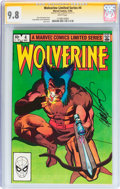 Modern Age (1980-Present):Superhero, Wolverine Limited Series #4 Signature Series (Marvel, 1982) CGCNM/MT 9.8 White pages....