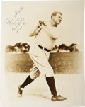 Autographs:Photos, 1948 Babe Ruth Signed Photograph....