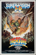 "Movie Posters:Adventure, Treasure of the Four Crowns & Others Lot (Cannon, 1983). OneSheets (3) (27"" X 41"") & Ad Supplement (9 Pages, 11"" X 17"")Fla... (Total: 4 Items)"