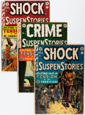 Golden Age (1938-1955):Horror, EC Comics Horror Group (EC, 1950s) Condition: Average VG....(Total: 4 Comic Books)