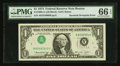Error Notes:Inverted Third Printings, Fr. 1908-A $1 1974 Federal Reserve Note. PMG Gem Uncirculated 66EPQ.. ...