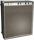Musical Instruments:Amplifiers, PA, & Effects, 1968 Standel A-30 Artist Black Guitar Amplifier....