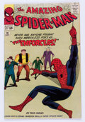 Silver Age (1956-1969):Superhero, The Amazing Spider-Man #10 (Marvel, 1964) Condition: VF....