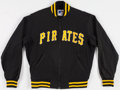 Baseball Collectibles:Uniforms, Early 1980's Rick Rhoden Game Worn Pittsburgh Pirates BullpenJacket. ...