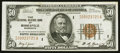 Small Size:Federal Reserve Bank Notes, Fr. 1880-I $50 1929 Federal Reserve Bank Note. Extremely Fine.. ...